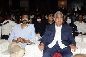 Sekhar Kammula, Narayan Das K Narang @ Love Story Pre Release Photos