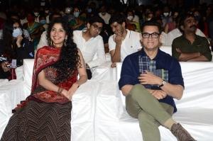 Aamir Khan, Sai Pallavi @ Love Story Pre Release Photos