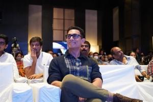Aamir Khan @ Love Story Pre Release Photos