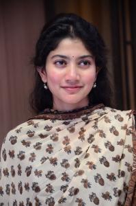 Actress Sai Pallavi @ Love Story Success Meet Stills