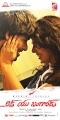 Rahul, Sravya in Love You Bangaram Telugu Movie Posters