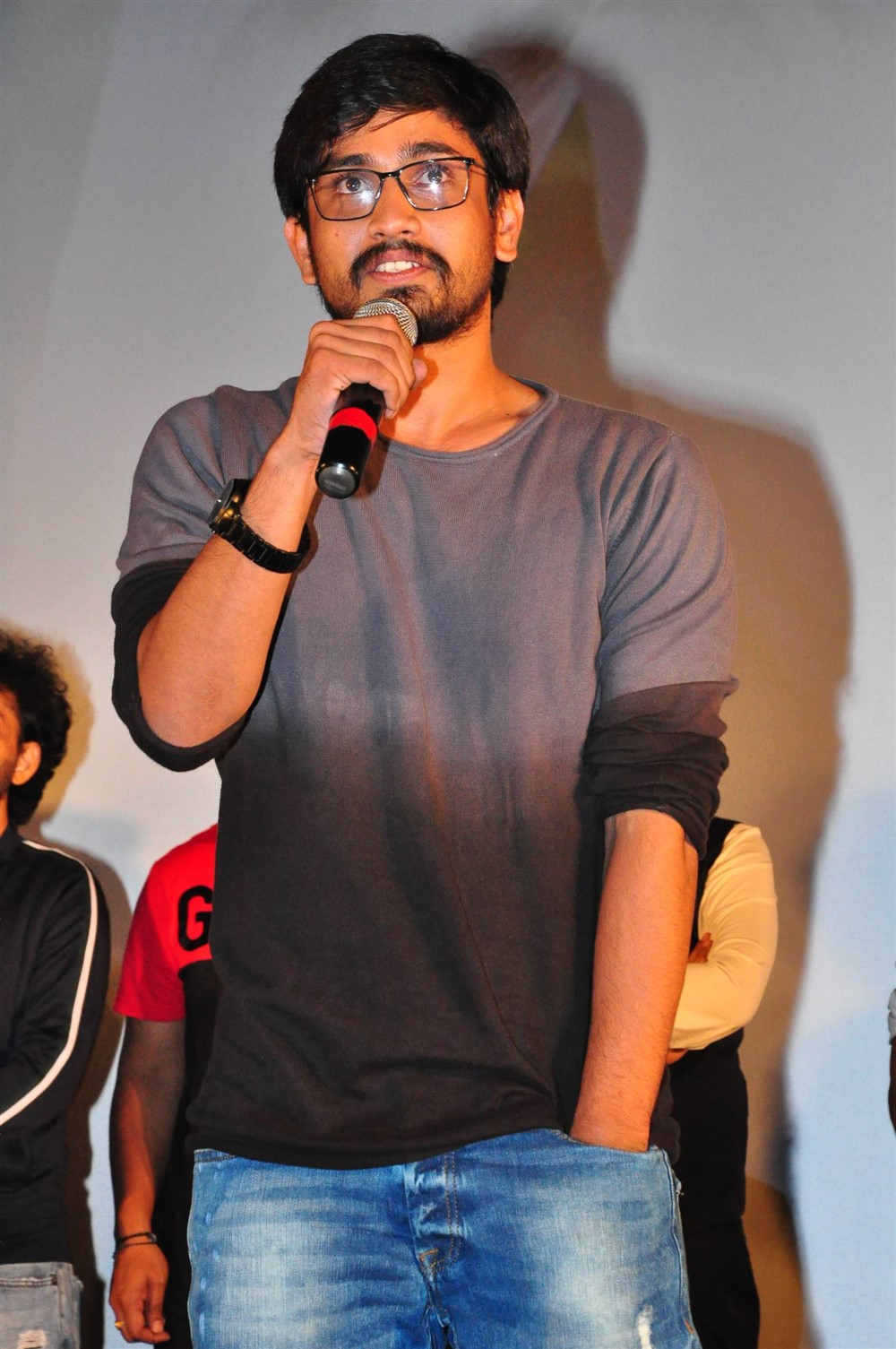 Raj Tarun @ Lover Movie Trailer Launch Stills
