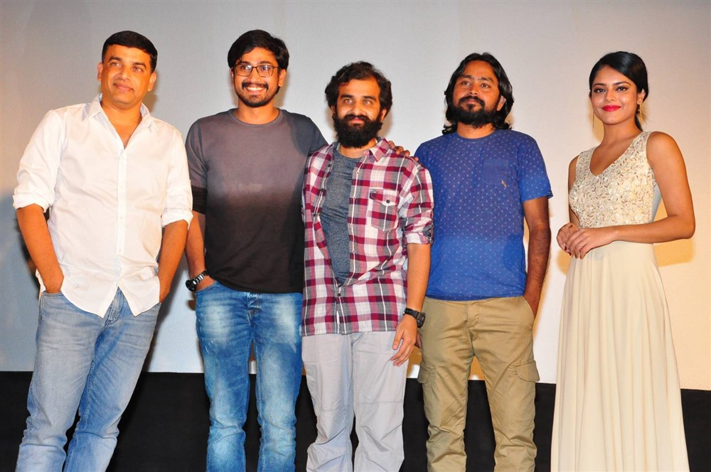 Lover Movie Trailer Launch Stills