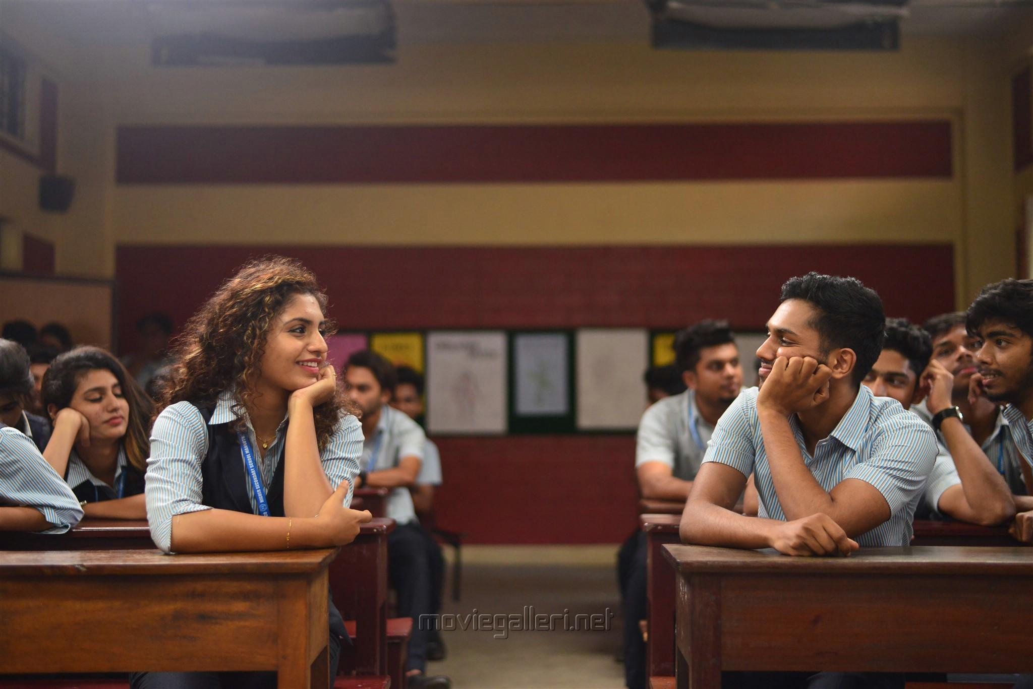Priya Prakash Varrier, Roshan Abdul Rahoof in Lovers Day Movie Photos HD