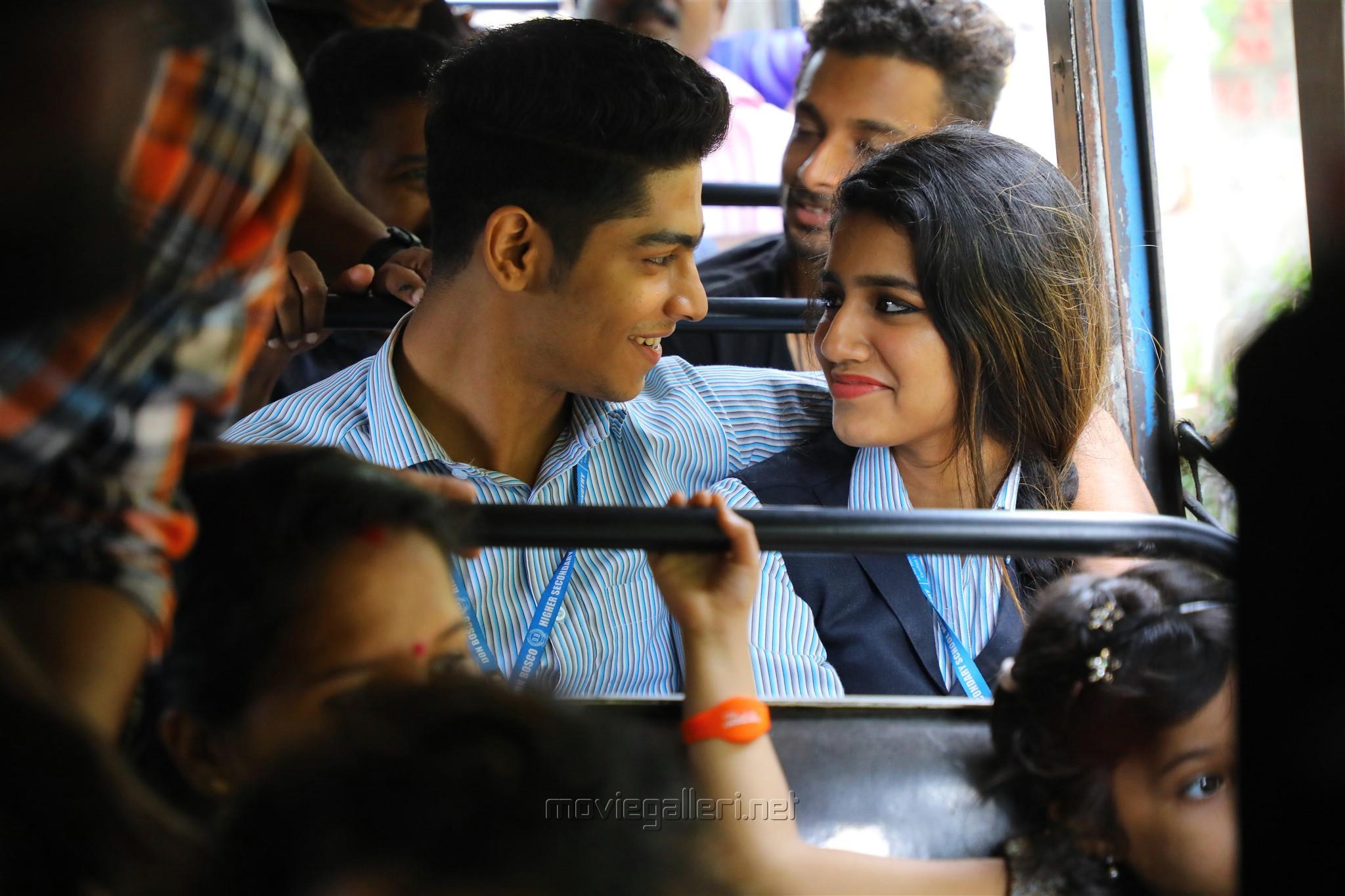 Roshan Abdul Rahoof,Priya Prakash Varrier in Lovers Day Movie Photos HD