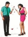 Srikanth & Meghana Raj in Lucky Telugu Movie Photo Shoot Stills