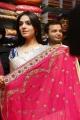 Lucky Sharma in a beautiful saree at Kalamandir Store, AS Rao Nagar, Hyderabad