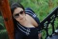 Telugu Actress Lucky Sharma Spicy Hot Photos in Blue Dress