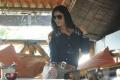 Telugu Actress Lucky Sharma in Blue Dress Hot Photos