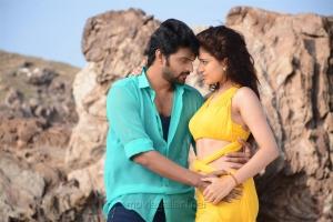 Sri Vishnu & Chitra Shukla in Maa Abbayi Movie Stills