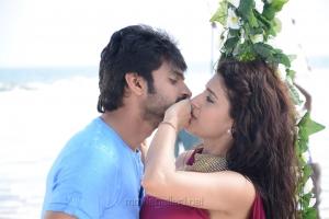 Sree Vishnu & Chitra Shukla in Maa Abbayi Movie Stills