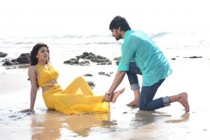 Chitra Shukla, Sree Vishnu in Maa Abbayi Movie Stills