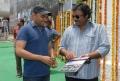 VV Vinayak at Maa Colony Bus Stop Opening Stills