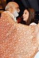 K Raghavendra Rao & Nayanthara at Cinemaa Awards 2012 Stills