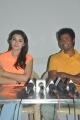 Hansika Motwani, Sivakarthikeyan at Maan Karate Movie Press Meet Stills