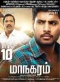 Charlie, Sandeep in Maanagaram Movie Release Posters