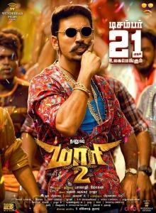 Dhanush in Maari 2 Movie Release Posters