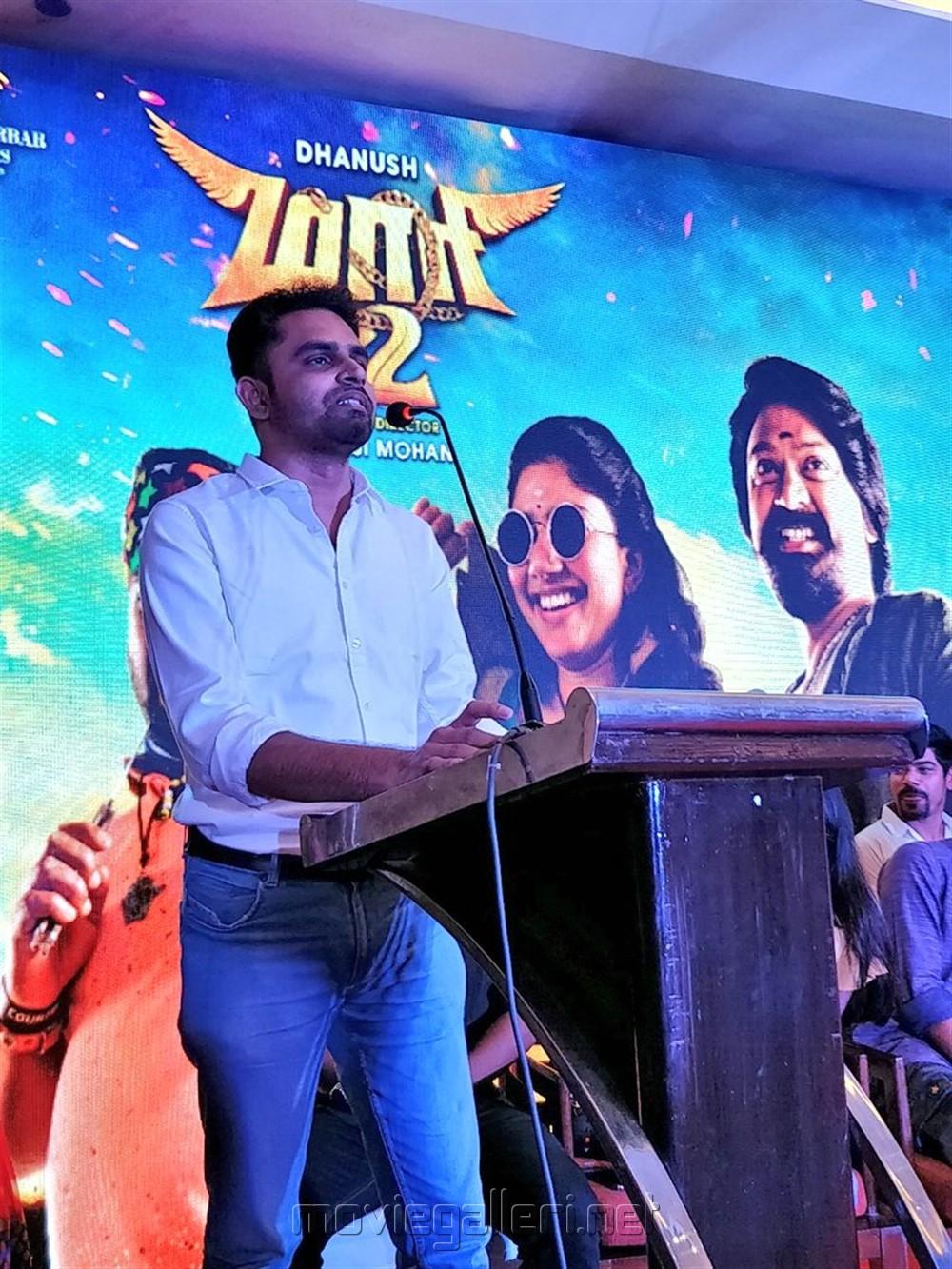 Balaji Mohan @ Maari 2 Press Meet Stills
