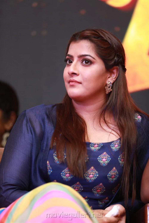Varalaxmi Sarathkumar @ Maari 2 Press Meet Stills