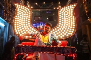 Actor Dhanush in Maari Tamil Movie Stills