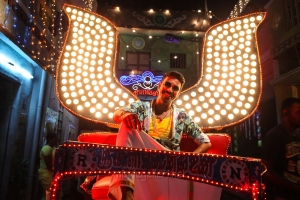 Actor Dhanush in Maari Movie Stills
