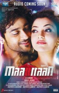Suriya & Kajal in Maatraan Audio Release Posters
