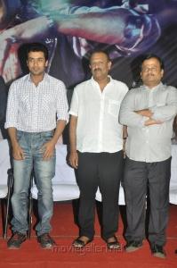 Suriya, AGS Agoram, KV Anand at Maatraan Movie Press Meet Stills
