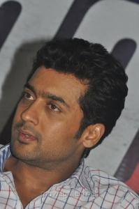 Surya at Maatraan Movie Press Meet Stills