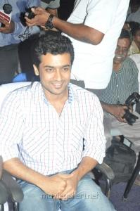Hero Surya at Maatraan Movie Press Meet Stills