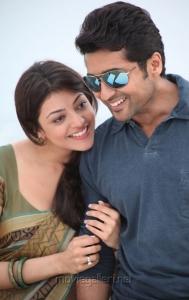 Surya & Kajal Agarwal in Maatran Latest Images