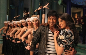 Kajal Agarwal, Surya in Maatran Latest Photos