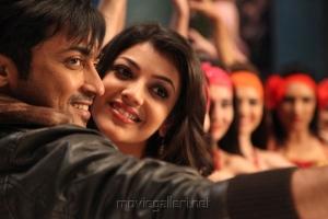 Surya & Kajal Agarwal in Maatran Latest Photos