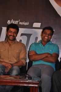 Suriya, Harris Jayaraj at Maatran Press Meet Stills