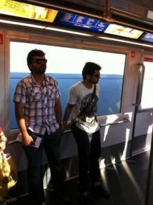 Karthi, Suriya at Maatran Songs Release in Singapore Stills