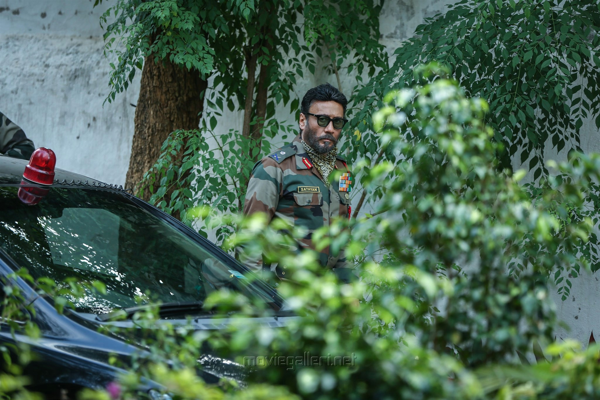 Actor Jackie Shroff in Maayavan Movie Stills