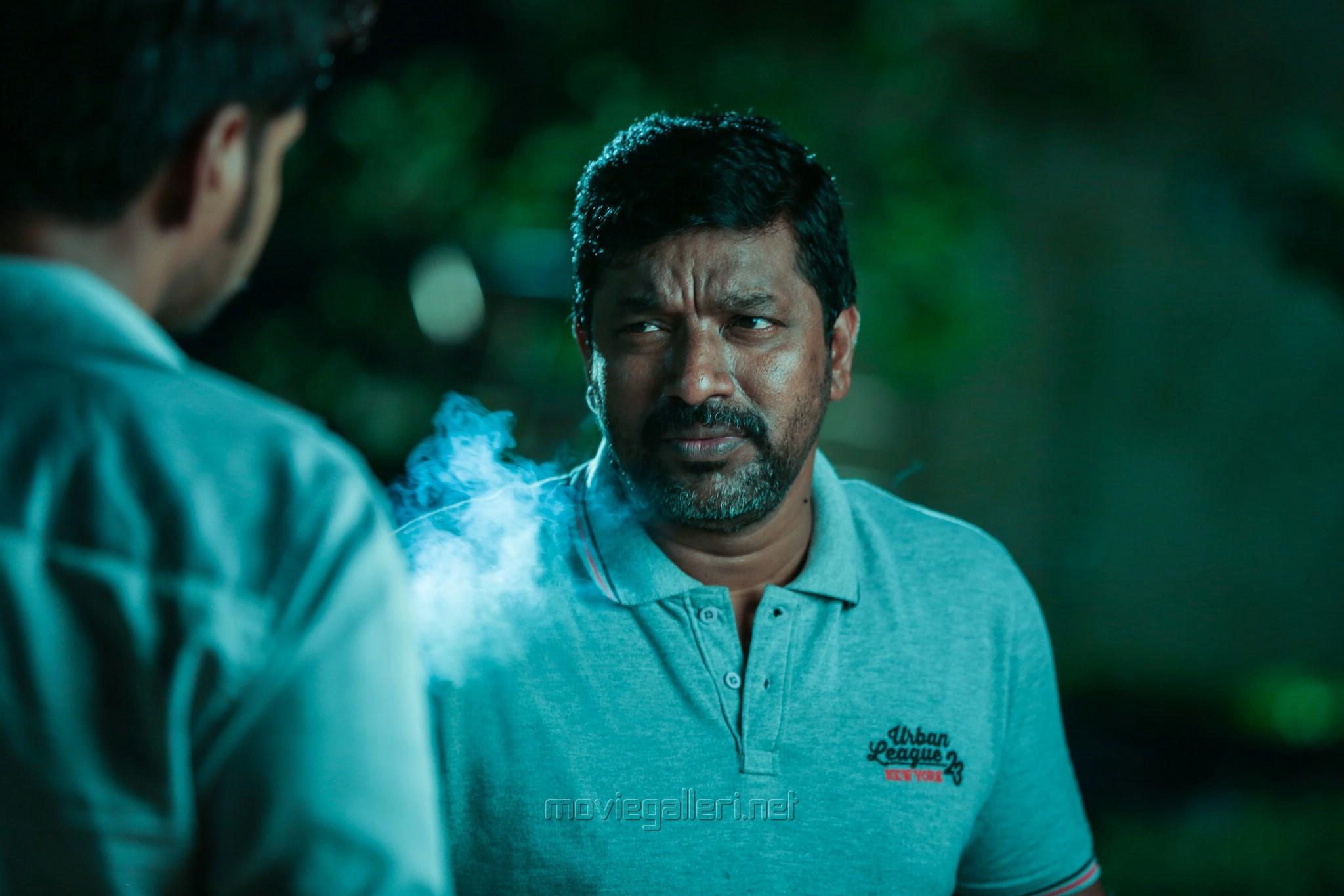 Actor Mime Gopi in Maayavan Movie Stills