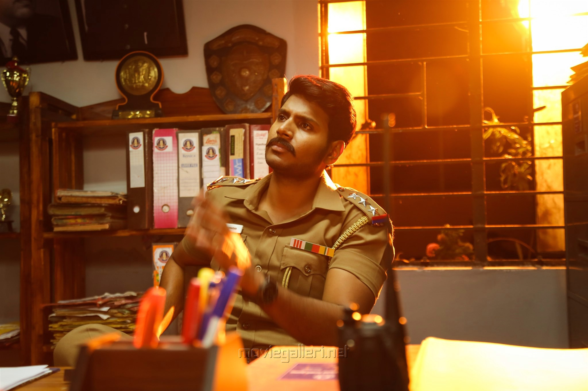Actor Sandeep in Maayavan Movie Stills