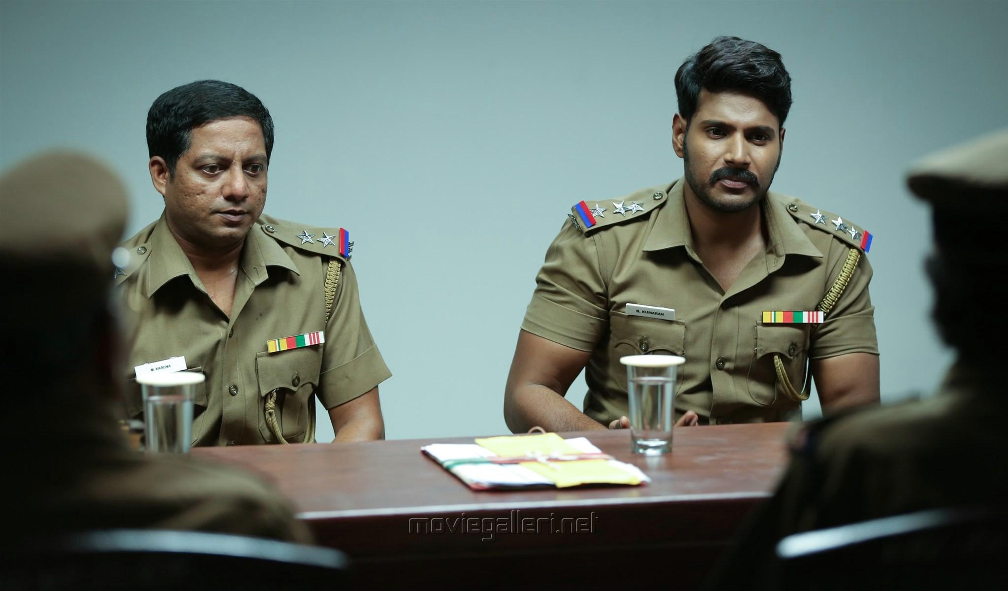 Bagavathi Perumal, Sundeep Kishan in Maayavan Movie Stills