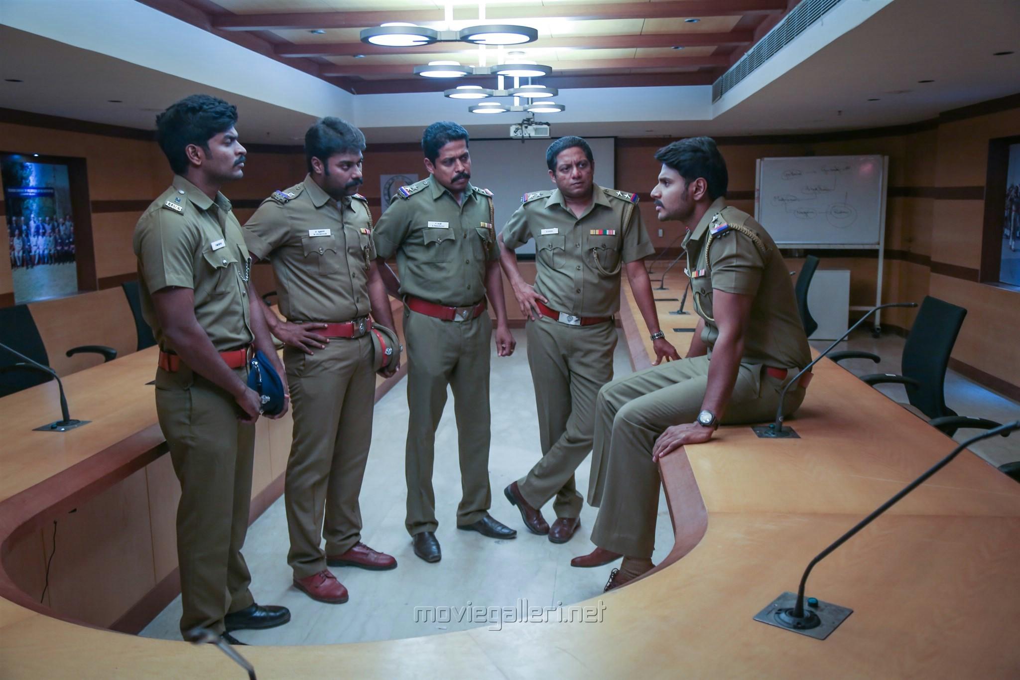 Bagavathi Perumal, Sundeep Kishan in Mayavan Movie Stills