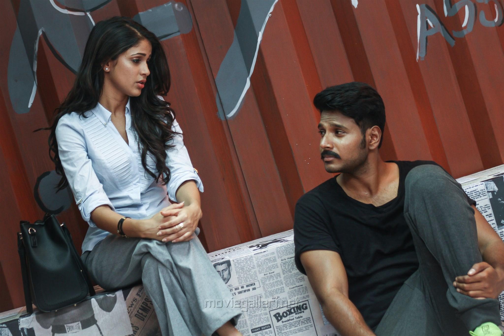 Lavanya Tripathi, Sundeep Ksihan in Maayavan Movie Stills