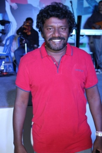Actor Karunas at Machan Movie Audio Launch Photos