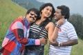 Vivek, Sheryl Brindo, Karunas in Machan Movie Latest Photos