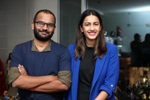 Mahesh Uppala, Niharika Konidela @ Mad House Web Series Press Meet Stills