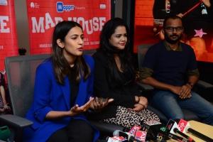 Niharika Konidela, Mahesh Uppala @ Mad House Web Series Press Meet Stills