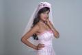 Madalasa Sharma in Bridal Gown Hot Photoshoot Stills