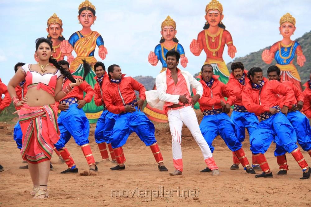 Hot Anjali, Vishal In Madha Gaja Raja