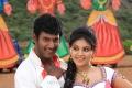 Vishal, Anjali in Madha Gaja Raja Movie Stills