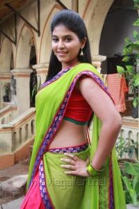 Actress Anjali in Madha Gaja Raja Telugu Movie Stills
