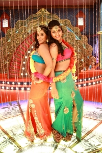 Varalaxmi, Anjali in Madha Gaja Raja Telugu Movie Stills