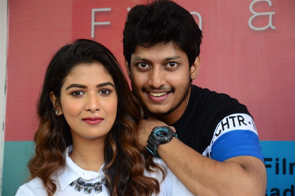 Bhavana, Srinivas Sai @ Madhanam Movie Teaser Launch Stills